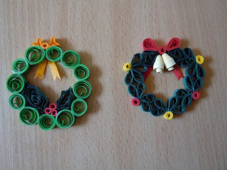 93 best 08 quilling my christmas decorations images on for Decoration quilling