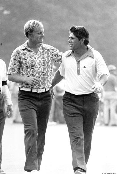 Lee Trevino - With Jack Nicklaus at 1971 U. S. Open Playoff at Merion. Won 5 Majors