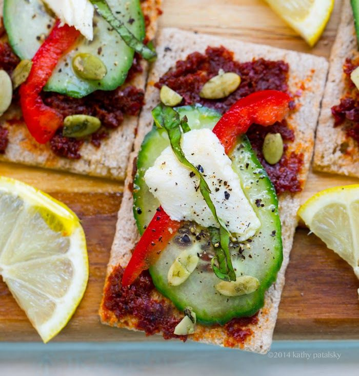 Fire and Ice Appetizer Crackers #snack