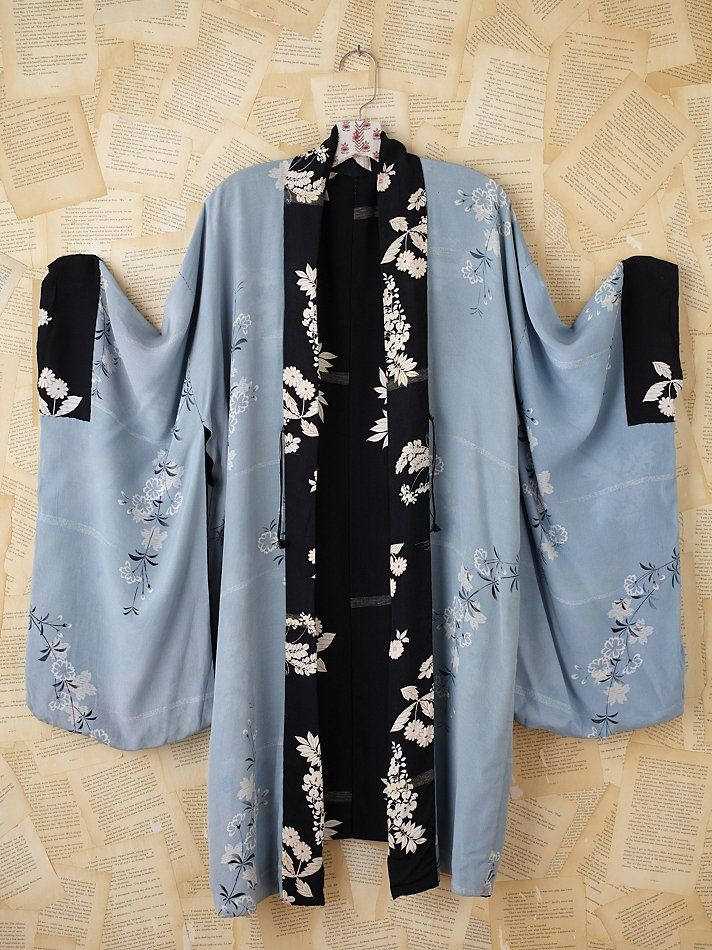 Vintage Kimono-already sold...but just too beautiful not to pin.