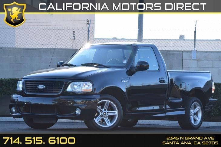This 2003 Ford F-150 SVT Lightning is listed on Carsforsale.com for $19,499 in Santa Ana, CA. This vehicle includes Air Conditioning : A/C,Body-Color Door Handles,Displacement : 5.4L Engine,Doors : Third Passenger Door,Dual Rear Access Doors,Engine Type : 8 Cylinder Engine,Fuel Economy : 12 Mpg City / 16 Mpg Highway,Horsepower : 380 Hp @ 4750 Rpm,Locks : Keyless Entry,Locks : Power Door Locks,Mirrors : Heated Mirrors,Mirrors : Power Mirror(S),Pwr Driver Seat,Sliding Rear Window,Tire...