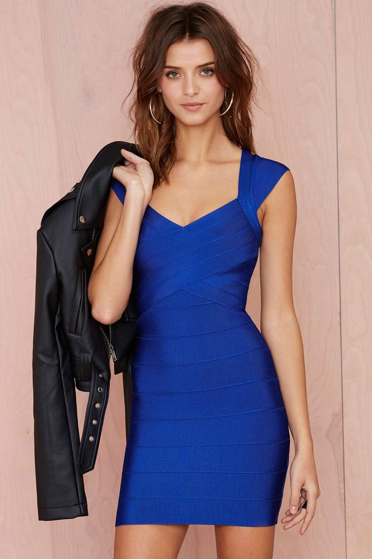Nasty Gal With the Bandage Dress