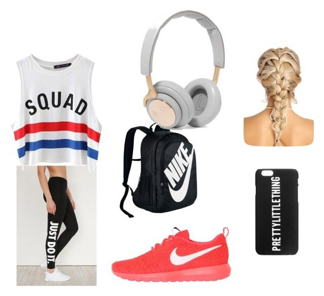 workout by cocoblair25 on Polyvore featuring Chicnova Fashion, NIKE and B&O Play