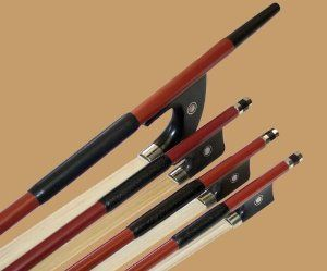 """J.T. Jet Carbon-Fiber Violin Bow 3/4 by Jean Tabary. $90.00. These affordable J.T. Jet Bows are a remarkable value for the price. Well suited for students or adult beginners on a tight budget, these carbon fiber bows are lively, responsive, easy to control and draw a big, clear tone out of the violin. Here is a review from a musician who happens to be a fan of the Jean Tabary bows: """"I've been using the Tabary bow regularly in orchestra and it works great! I wouldn't use ..."""