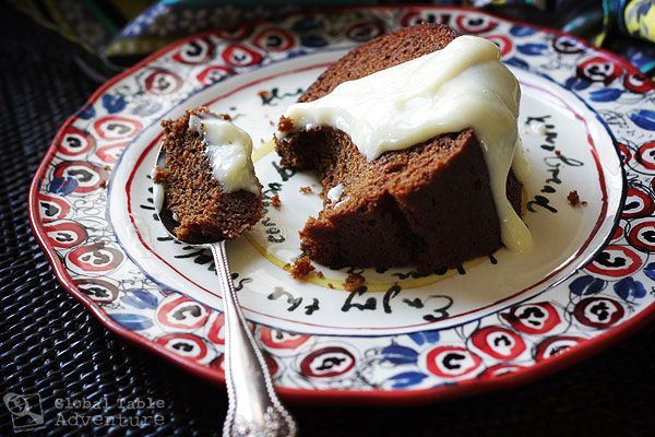 Samoan Steamed Spice Cake | Puligi ... P.S. You eat it with vanilla custard.