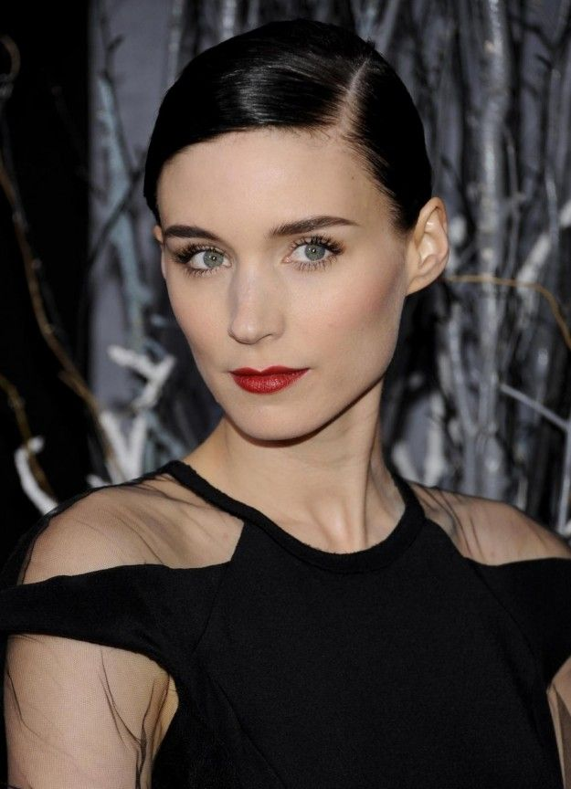 Rooney Mara... because her makeup is always so impeccable. I suppose there is something to a Vegan-Paleo diet.