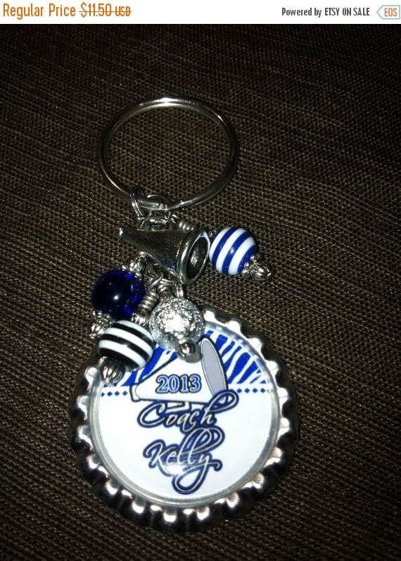 Mothers Day On Sale Cheer Coach Gift PERSONALIZED Key Chain