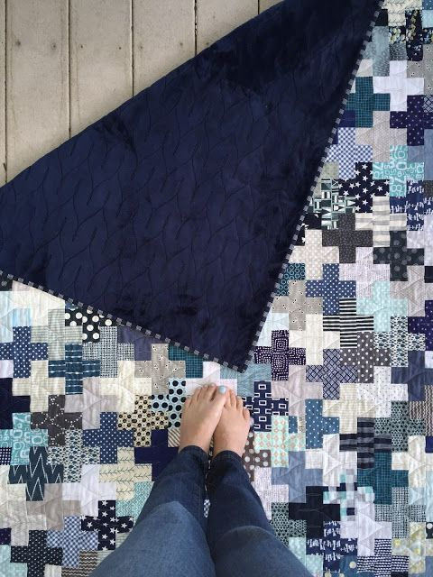 A Little Bit Biased: Plus Quilt