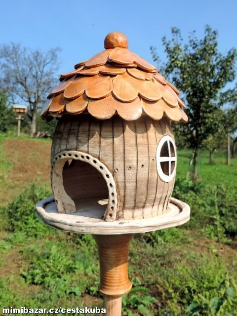 Ptačí krmítko keramika NA OBJEDNÁVKU