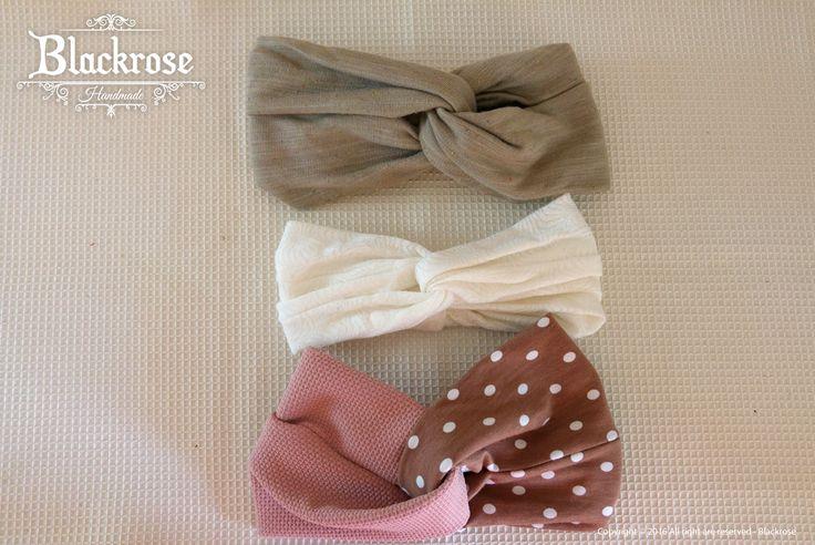Fasce a turbante in stoffa...colorate e belle da indossare