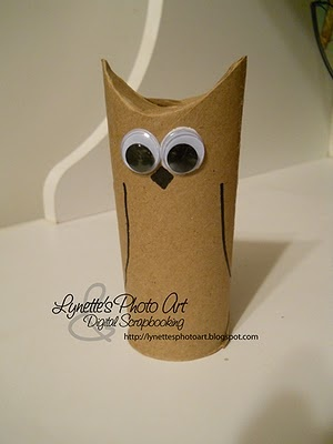 such a simple and cute owl! craft for (ow) sound of the ...