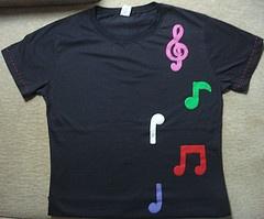 Notas Musicais: Photos, Camisetas Appliqué, Notas Musicais,  T-Shirt,  Tees Shirts, Jersey, Camiseta Applied, Nota Musicai