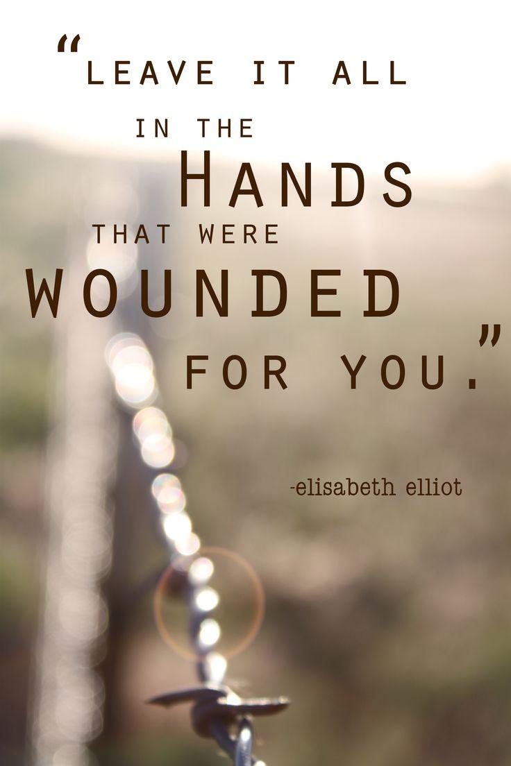 elisabeth elliot 2 | scribbling in the sand