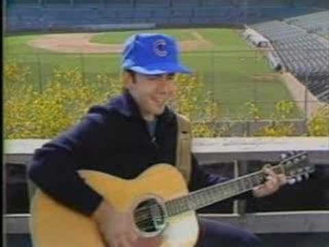 """Steve Goodman: A Dying Cubs Fan's Last Request. What a great story teller and Chicago guy. Yet another one who died way too young, I'm going to break my """"only one song"""" rule, because I've GOT to do Lincoln Park Pirates, only because I was a victim, and it cost me $295.00!"""