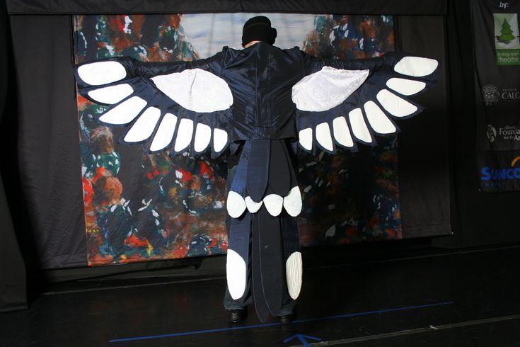 magpie costume | Magpie costume ideas for school mascot ...
