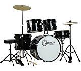 Gammon Percussion Full Size Complete Adult 5 Piece Drum Set with Cymbals Stands Stool and Sticks Blackby Gammon Percussion411% Sales Rank in Musical Instruments: 141 (was 721 yesterday)(571)Buy new: $259.95 $224.953 used & new from $205.00 (Visit the Movers & Shakers in Musical Instruments list for authoritative information on this product's current rank.)