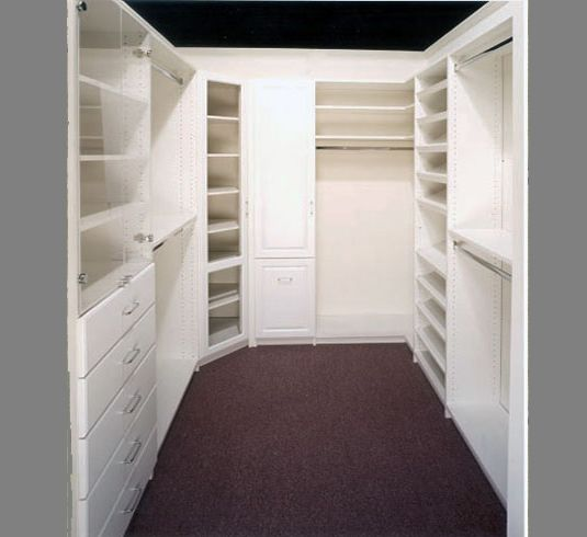 Walk in closet dimensions layout woodworking projects for Walk in closet dimensions