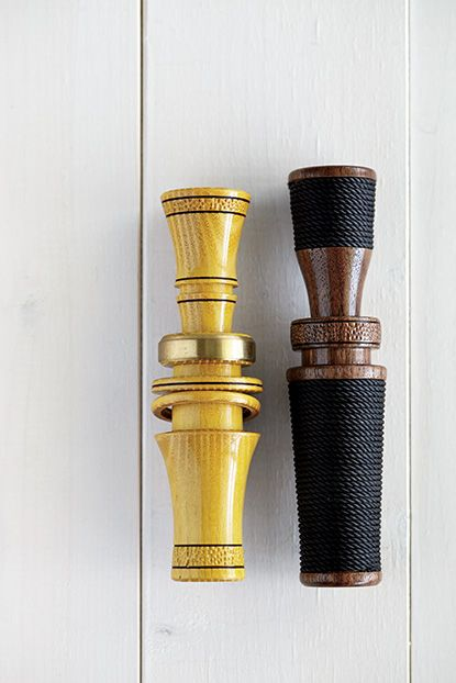 """Photo Credit: Jennifer Causey. <b>Runner-Up Outdoors</b> Raggio Custom Calls: duck calls; Raymond, MS (est. 2014)<br><br><a href=""""http://gardenandgun.com/article/fifth-annual-made-south-awards/page/0/2""""target=""""_blank""""><b><em>>Click here to read more</b></em></a>"""