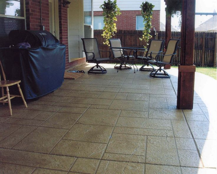 Superb Tired Of Your Old, Boring Patio Floor? Give It The Makeover It Deserves  With Concrete Patio Resurfacing! Letu0027s Talk About The Variety Of Color And  Design ...