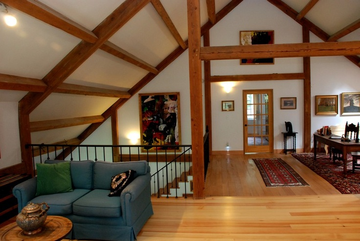 Post And Beam Home For The Home Pinterest Beams