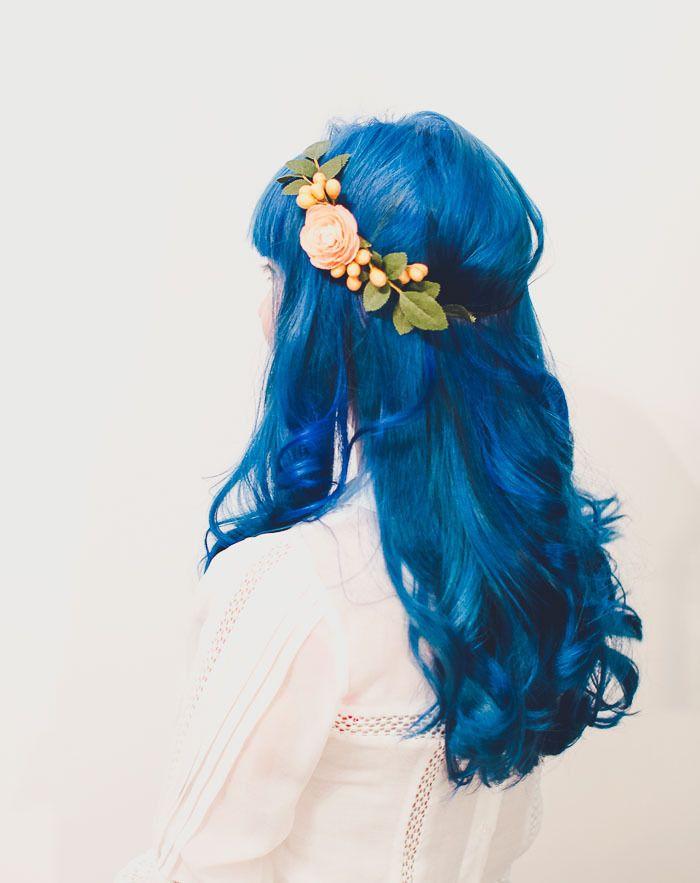 Blue Hair FAQ: How to Dye Hair a Bright Cobalt Blue // Mermaid hair tips and FAQ