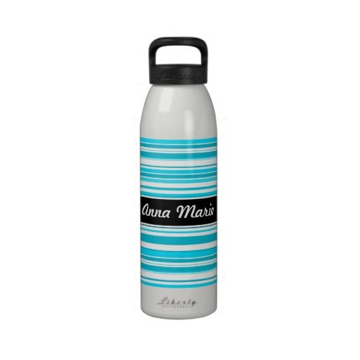 Blue Stripes Personalized Water Bottle we are given they also recommend where is the best to buyHow toOnline Secure Check out Quick and Easy...