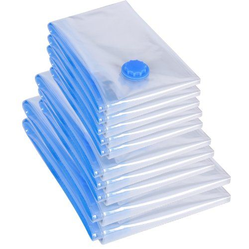 From 14.99 Songmics 128 X 98 / 98 X 68 / 78 X 58 Cm Pack Of 10 Vacuum Bags Space Saver Bags Travel And Home Storage Rvm10t