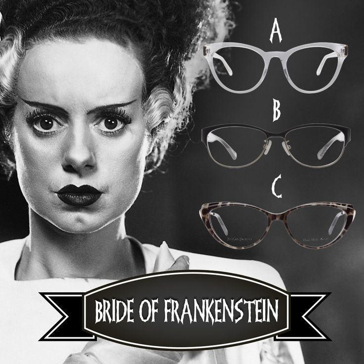 Happy #Halloween, Clearly fans!   Vote for which style of #specs would suit Bride of Frankenstein on Instagram to be in for the chance of winning a pair of #frames: http://instagram.com/p/uzOU6yxcwt/?cmp=social&src=pn&seg=au_14-10-31_brideoffrankenstein-smco Voters must live in Australia, winner announced Monday. Good luck!  #comp   #competition   #giveaway   #win