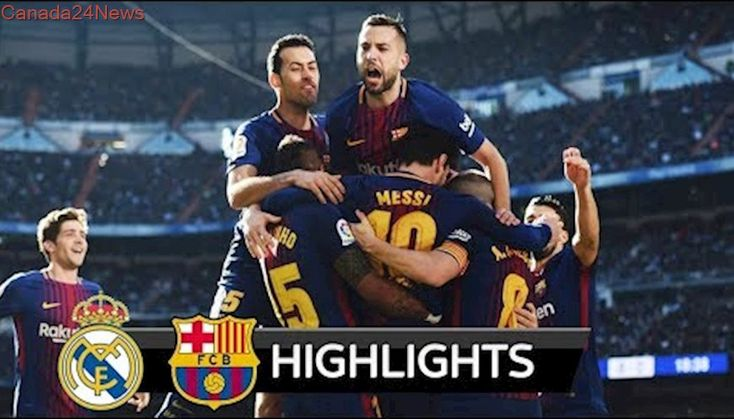 Real Madrid vs Barcelona 0-3 - All Goals & Extended Highlights - La Liga 23/12/2017 HD