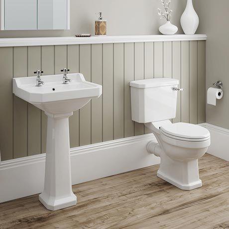 Darwin 4 piece traditional bathroom suite traditional for 4 piece bathroom designs