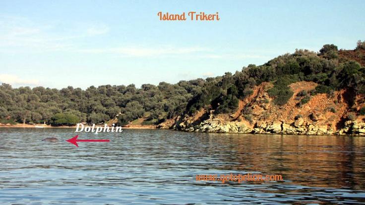 Island trikeri in Pelion Greece