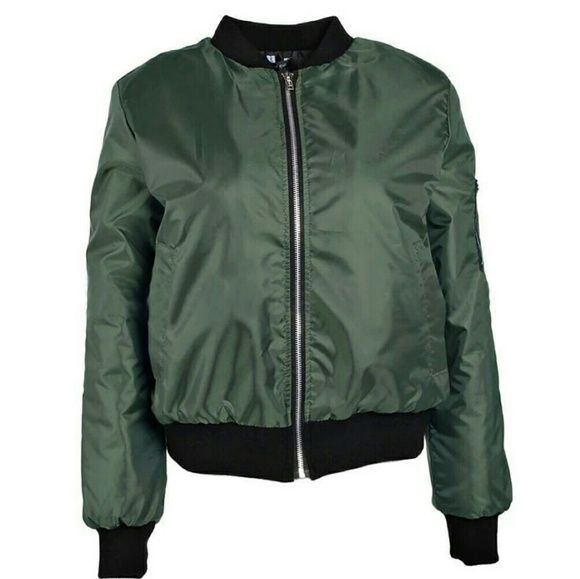 Just listed this on my Poshmark: Green Lightweight Bomber Jacket. Check it out!  Size: M