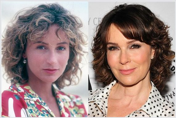 Jennifer Grey nose job and plastic surgery before and after pictures