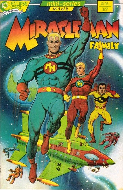 With One Magic Word: The Miracleman/Marvelman Saga: Part One