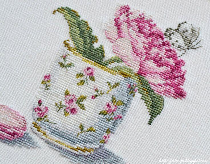 Gallery.ru / Фото #22 - Цветы в чашке. Трио - rabbit17