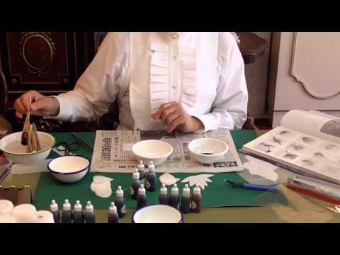 Somebana - silk flowers: how to dye, cut and frill. - YouTube