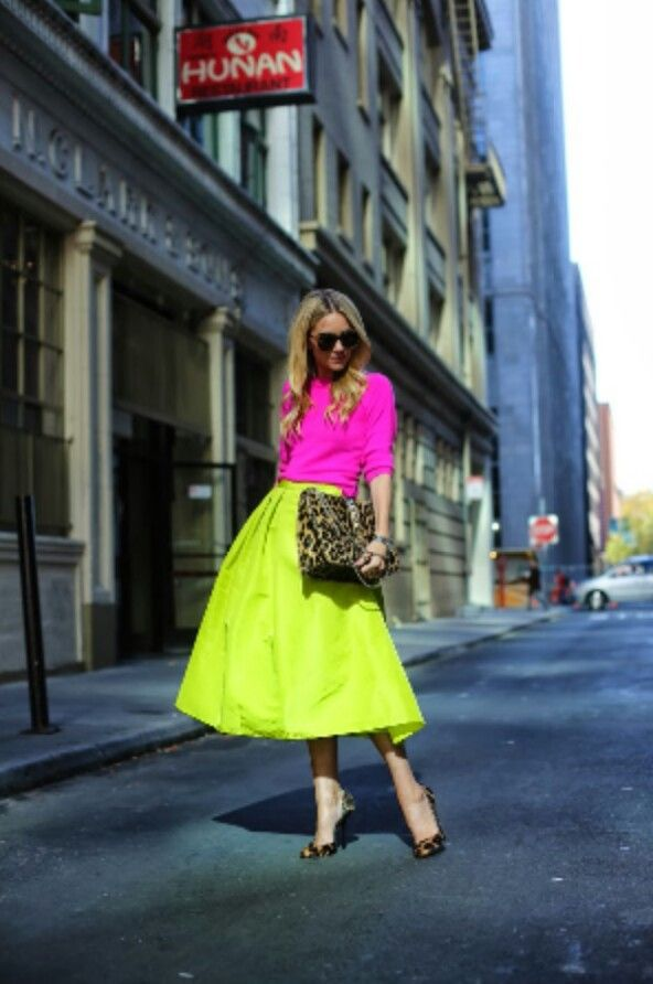 I just bought this skirt, and I wonder if it's too bright for the meetings...I don't think the pink top would help...
