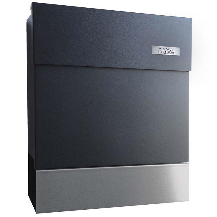 ber ideen zu briefkasten anthrazit auf pinterest. Black Bedroom Furniture Sets. Home Design Ideas