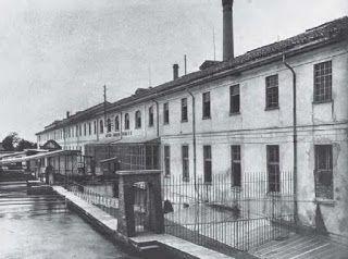 conca fallata. La conca ebbe poi il suo riscatto: attivato il naviglio e permessa la sua navigabilità fino a Pavia, il salto d'acqua qui generato venne sfruttato a partire dal 1840-1850 dallo stabilimento delle Cartiere Ambrogio Binda.