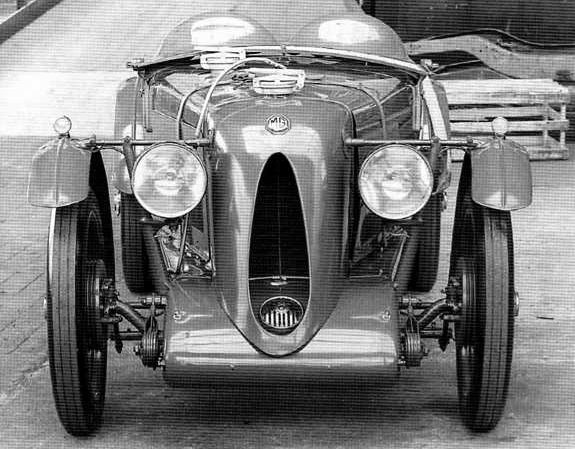 MG C Type Right