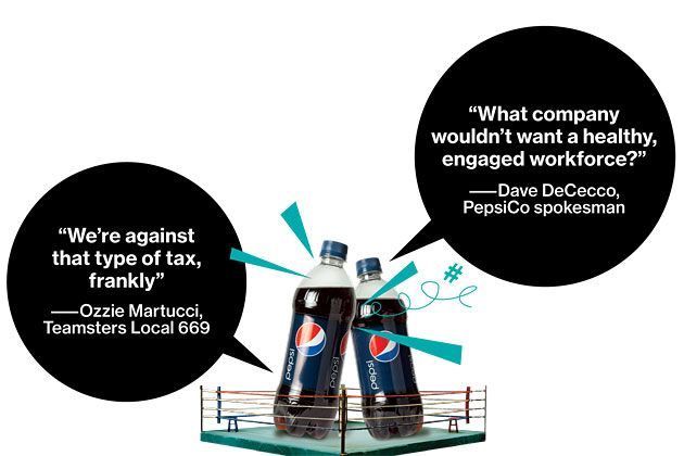 The bottom line: PepsiCo has spent at least $17 million fighting soda taxes while assessing fees on its own employees who are overweight.