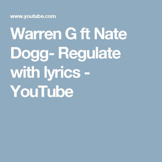 Warren G ft Nate Dogg- Regulate with lyrics - YouTube
