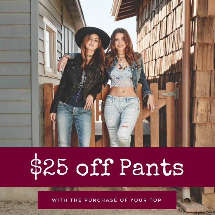 | Step up your style | Save $25 off pants with the purchase of a top this week @buckeyesurf