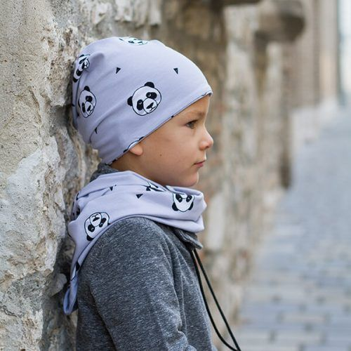 Pandás sapka - Bozoki Kids Fashion