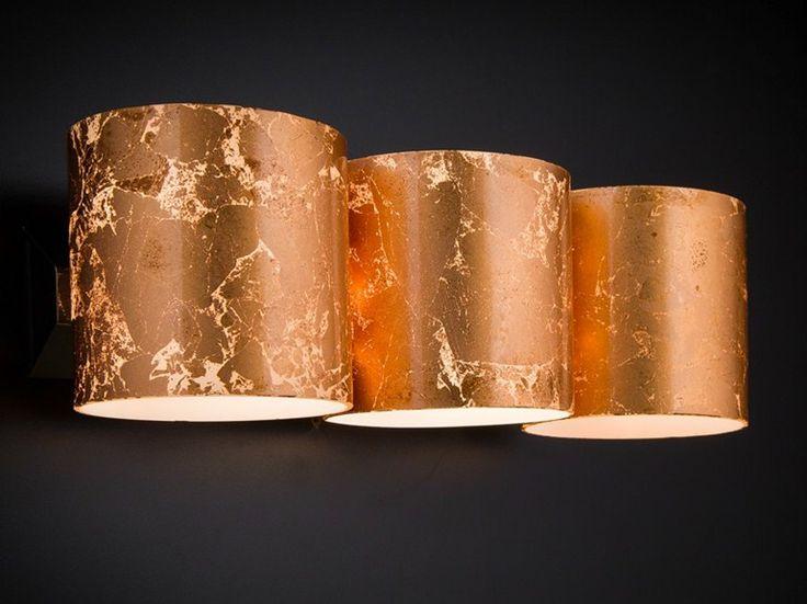 Applique murale de feuille de cuivre BRICK | Applique murale - Metal Lux di Baccega R. & C.
