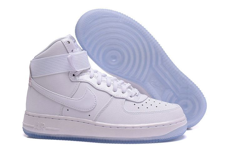 Nike Air Force 1 New Nike Air Force 1 High AF1 White_Grey Shoe For Discount