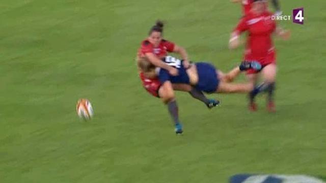 VIDÉO. Coupe du monde : Quand Marjorie Mayans découpe de la Galloise - Le Rugbynistère - 03/08/2014