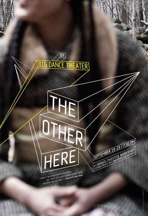 Big Dance Theater poster series:  by William Morrisey