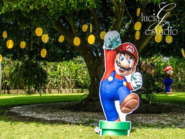 "Photo 2 of 16: Super Mario Brothers / Birthday ""Mario Bros"" | Catch My Party"