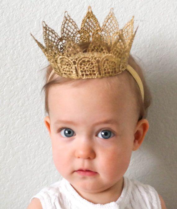 Queen's Lace Crown Lace Princess Crown Baby от PrideandPrincesses